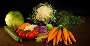 Les Salades et crudités
