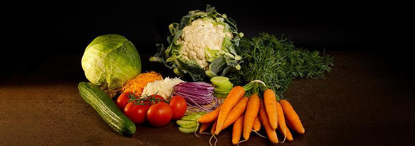 Crudités et salades composées