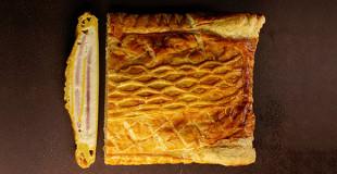 Pâtisseries salées à la coupe