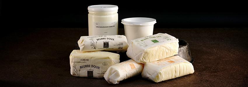 Les Beurres et crème fraîche