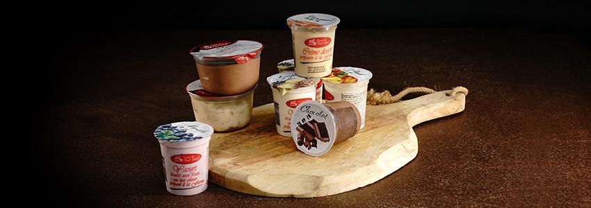Les Yaourts et crèmes dessert