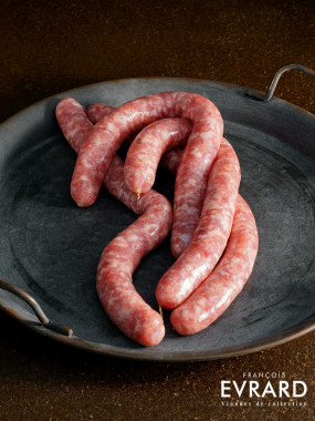 Saucisse nature porc et veau