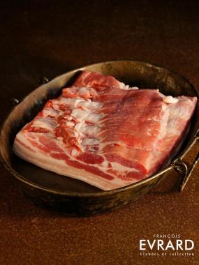 Poitrine de porc fraiche France Haut Pays