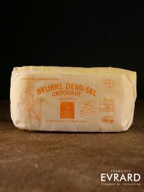 Beurre 1/2 sel croquant 250 gr par Philippe Olivier