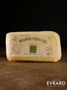Beurre 1/2 sel  250 gr par Philippe Olivier