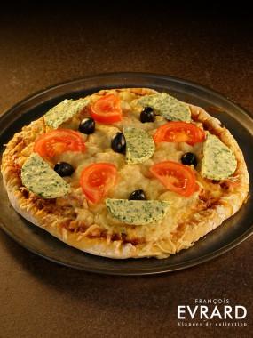Pizza aillée
