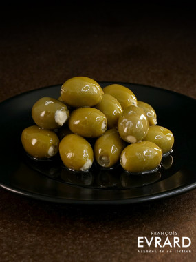 Olive verte farcie au fromage